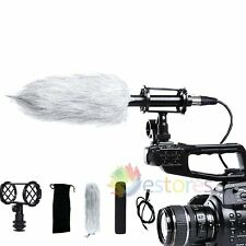 BOYA BY-PVM1000 Condenser Shotgun Microphone Mic 3 Pin XLR Plug Video DV Camera