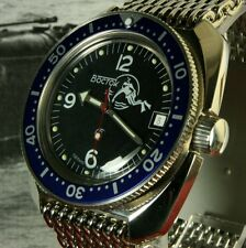 Vostok Amphibian, Amphibia Russian Custom Auto Dive Watch, New, Boxed, UK Seller