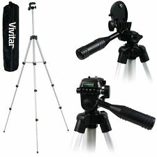 "Vivitar 50"" Light Tripod For Panasonic Lumix DMC-G7 DMC-GX8 DMC-G7H DMC-FZ300"