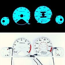 INDIGLO GLOW GAUGE DASH WHITE FACE EL CLUSTER FOR HONDA Accord 94-95