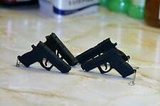 New Novelty Black Gun Pistol Pen Flash Drive Gift Storage Memory Stick USB 2.0
