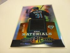 2006 U.D. Mike Piazza Epic Materials Jersey Card # EM-MP1 New York Mets 91/145