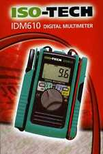 Iso-Tech IDM610( Kewtech Kewmate) 100A  Multimeter with Open Clamp Sensor