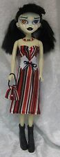 Clothes for BLEEDING EDGE BeGoths Dolls #32 Dress, Corset, Purse, Necklace