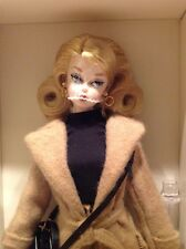 2016 Classic Camel Coat Silkstone Barbie Doll ~Posable Pivotal~Gold Label~NRFB