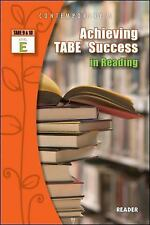 ACHIEVING TABE SUCCESS IN READING, LEVEL E READER - NEW PAPERBACK BOOK