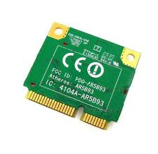Atheros AR5B93 4104A 802.11b/g/n half size Card Wireless mini Pci-E Karte DELL