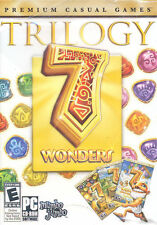 7 WONDERS TRILOGY  The Ancient World  Treasures Of The Seven  7 Wonders II  NEW