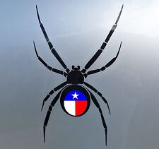 Texas Black Widow Stickers Car Vinyl Decals JDM