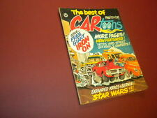 THE BEST OF CARTOONS magazine #1 Fall 1977 Petersen CAR TOONS hot rods dragsters