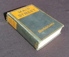 'Main Street' by S Lewis - Harcourt Brace & Howe 1920, First Edition, 2nd State