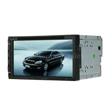 "Universal 7"" 2 DIN HD Car DVD MP5 Player Bluetooth FM Radio Aux Input USB N4Y8"
