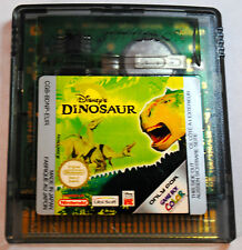 Jeu DINOSAUR pour Nintendo Game Boy Color
