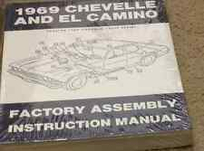 1969 CHEVY CHEVELLE & EL CAMINO ASSEMBLY Instruction Manual FACTORY