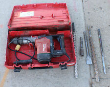 HILTI TE75 CORDED ELECTRIC ROTARY HAMMER DRILL WITH BITS