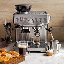 Breville BES870 Coffee Machine + Bonus 500g Golden Crema Platinum Coffee
