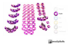 Dress Up Bolts for 90-99 300ZX Z32 Purple Ti Titanium Engine Bay Kit