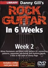 LICK LIBRARY Danny Gill's ROCK GUITAR in 6 WEEKS Learn to Play Jimmy Page DVD 2