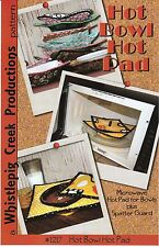 HOT BOWL HOT PAD Pattern by Whistlepig Creek ~Microwave Bowl Pad & Spatter Guard