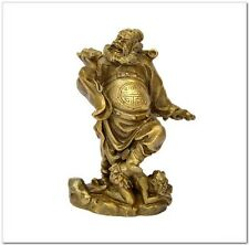 Brass Zhong Kui statues statue furnishing articles