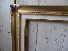 "16x20"" Francese Shabby Chic Vintage Antique Gold Wall Art Picture Foto Cornice"