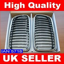 PREMIUM NEW CHROME KIDNEY GRILLS BMW E38 7 SERIES 1994-02 728i 735i 740i 750iL