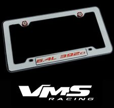VMS 1 CHROME LICENSE PLATE FRAME FOR CHRYSLER DODGE 6.4L 392CI RDSL