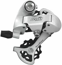 NEW Sunrace R86 Rear Alloy Bicycle Derailleur 8 Speed SILVER Short Cage 11-27t