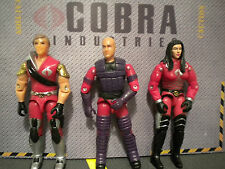 GI JOE ~ CRIMSON TOMAX , BARONESS & DRAGONSKY ~ oktober & crimson guard