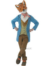 Child 7-8 Fantastic Mr Fox Party Fancy Dress Costume Animal Kids Boys