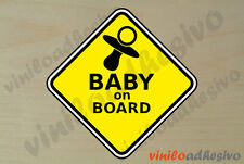 PEGATINA STICKER VINILO Bebe a bordo ref9 Baby on board autocollant aufkleber