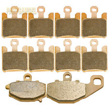Front Rear Sintered Brake Pads - 2003 2004 2005 2006 KAWASAKI ZX-6R ZX 636