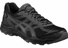 Asics GEL FUJI TRABUCO 5 GTX Mens Trail Trainers T6J1N GORE-TEX BLACK UK 12 / 48