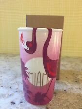 "Starbucks 2016 Miami Florida Flamingol12 oz.Traveler Tumbler ""Local Collection"""