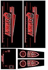 GETAWAY HIGH SPEED II Pinball Machine Cabinet Decals Limited QTY - NEXT GEN