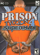 PRISON TYCOON 4 SUPER MAX - Super Max Jail Warden Strategy Sim PC Game - NEW!