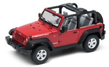 Welly Nex Models 1/24 2007 Jeep Wrangler Convertible (Red) # 22489WC