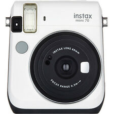 Fujifilm Instax Mini 70 Instant Fuji Film Camera (Moon White)