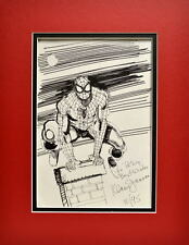 AMAZING SPIDER-MAN SKETCH PRINT PROFESSIONALLY MATTED Klaus Jansen art