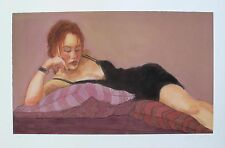 "JANET TREBY ""CONTEMPLATION"" Hand Signed Limited Edition Giclee"