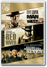 Man of the West, Red River, Return of the Magnificent Seven DVD New