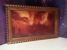 "DOCTOR WHO GALLIFREY FALLS NO MORE LENTICULAR FRAMED PICTURE 5"" FIGURE ACCESSORY"