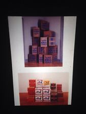 "Andy Warhol ""Kellog's Boxes (corn Flakes)"" Pop Art 35mm Glass Slide"