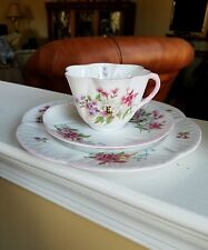 Shelley  China Stocks  Dainty Trio. Cup, saucer,  8 inch plate