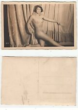 Nackte Frau,weiblicher Akt,Girl Nude Foto R private Photo PC Art Deco c.1925