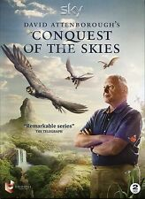 DAVID ATTENBOROUGH'S CONQUEST OF THE SKIES 2 DVD BOX SET