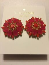 $58 KATE SPADE NEW YORK Trellis Bloom Statement Button Stud Earrings #801