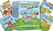 PRESCHOOL PREP COMPANY Collection 10 DVD Set NEW