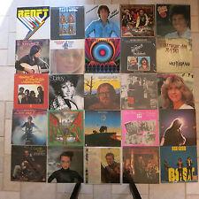LP Sammlung mit 25 Schallplatten  Rock und Pop  alle abgebildet all illustrated
