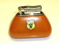 IBELO MONOPOL VINTAGE AMBER/BERNSTEIN AUTOMATIC TABLE LIGHTER - GERMANY-RARE